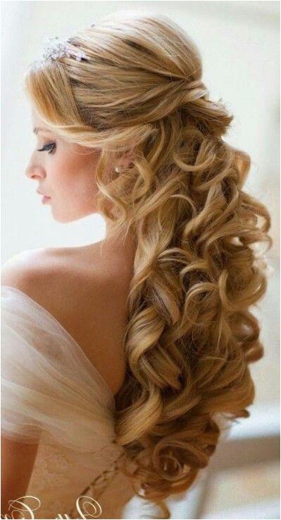 Bride Hairstyles Half Up with Tiara Pin by Nectaria Kordan On Bridal Hair Pinterest