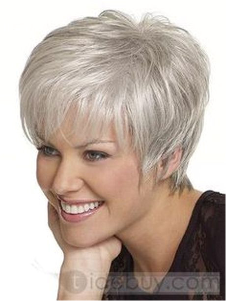 Easy Hairstyles for Grey Hair Short Hair for Women Over 60 with Glasses
