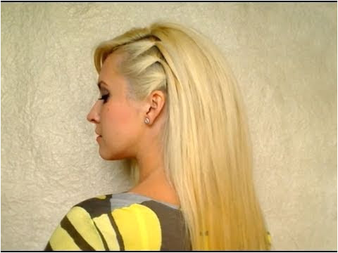 Easy Hairstyles to Do at Home for Party Cute Easy Party Hairstyle for Medium Hair Back to School Everyday
