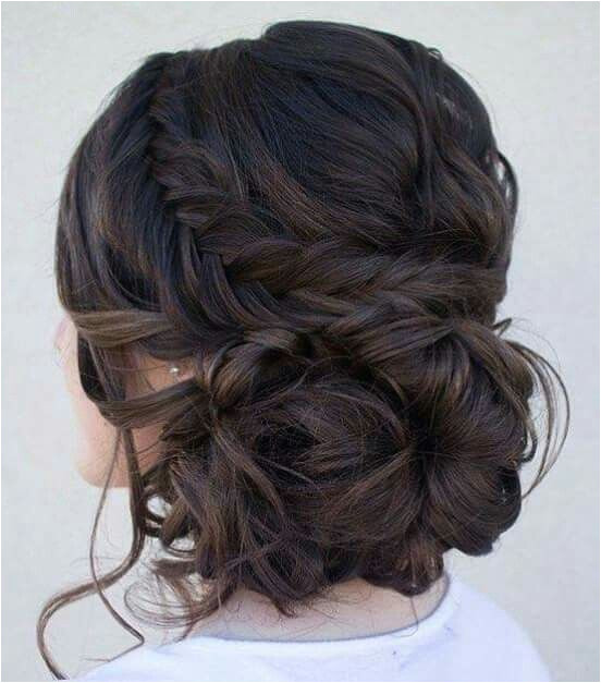Formal Hairstyles Messy Bun Plait & Messy Bun Hair