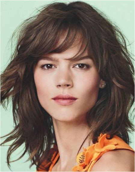 Hairstyle Cuts for Long Curly Hair Vibrant Feathered Shag Look Curly Shag Haircuts for Short Medium