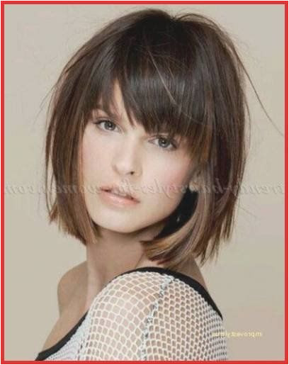 Hairstyles Chin Length Layered Hair Medium Hairstyle Bangs Shoulder Length Hairstyles with Bangs 0d by