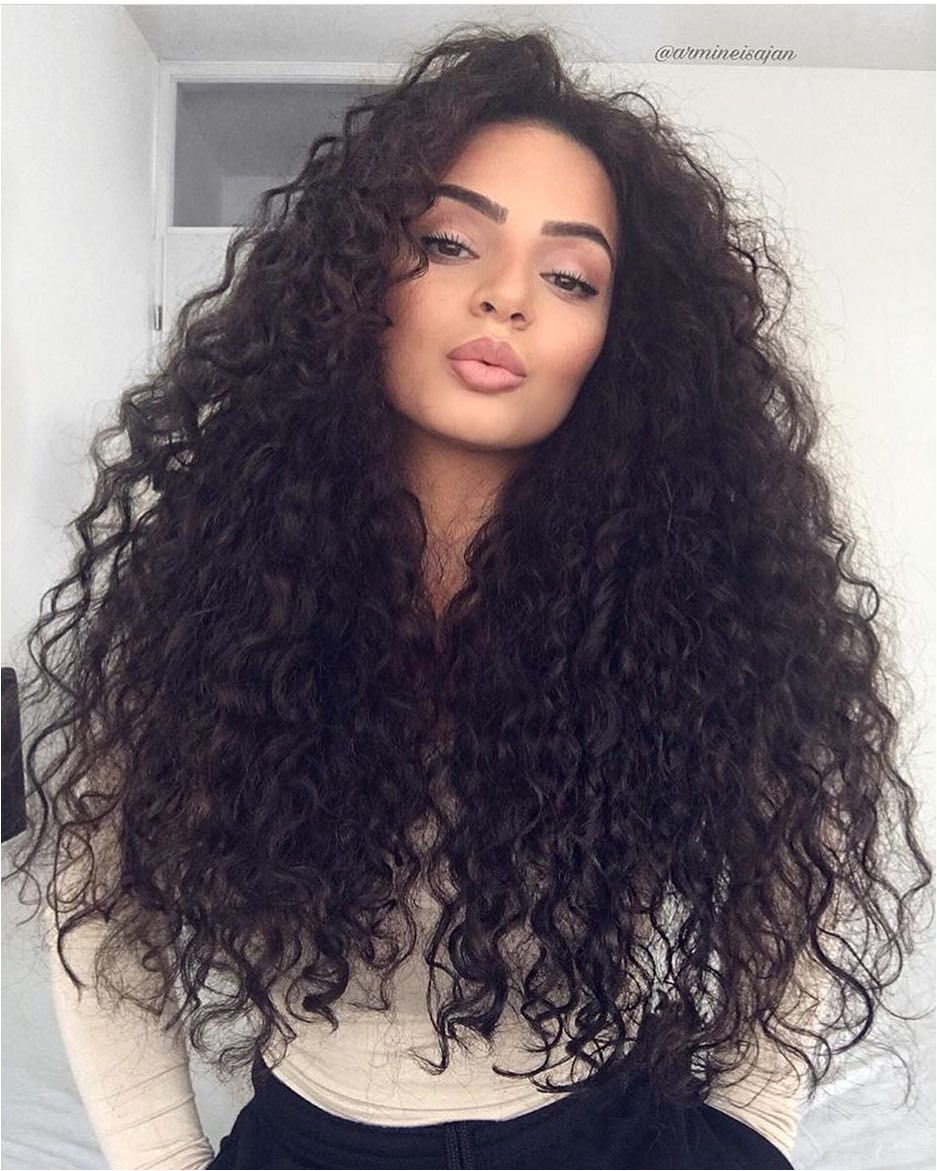 Hairstyles Curly Long Hair 2019 45 Elegant Naturally Curly Hair for Beautiful Women Hairstyles 2019