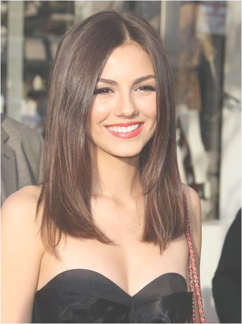 Hairstyles for Below Chin Length Hair Straight Natural Brown Hair Cut Below Shoulders Line This