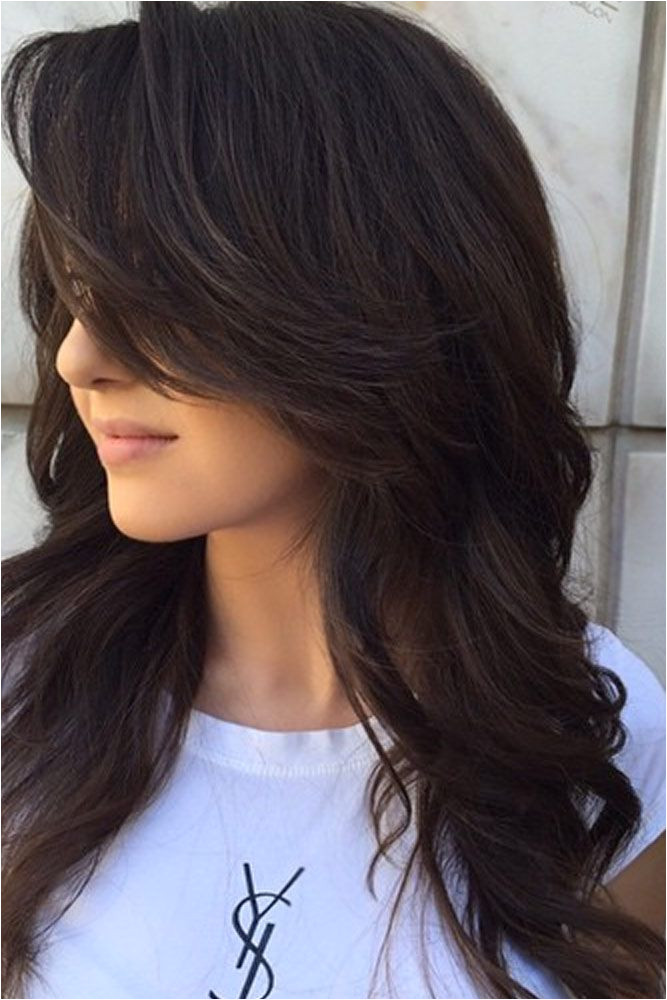 Hairstyles for School with Front Bangs 37 Long Haircuts with Layers for Every Type Texture