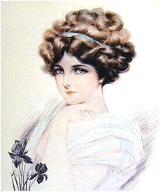 Hairstyles Gibson Girl 127 Best Gibson Girl Images