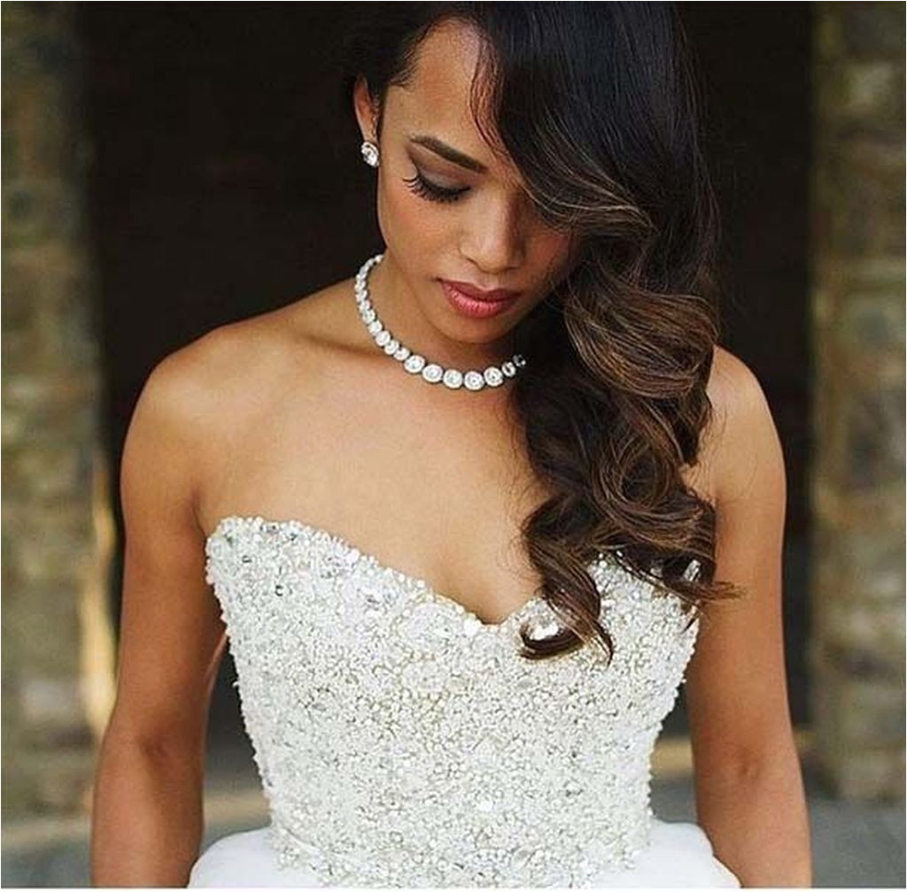 Hairstyles On Black Gown 36 Gorgeous Wedding Hairstyles for Black Women