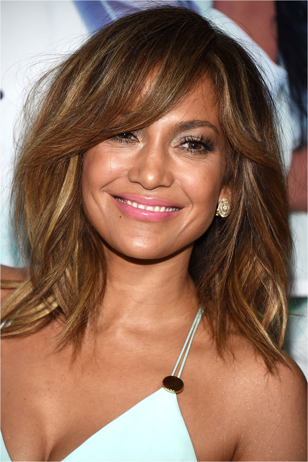 Jennifer Lopez Long Hairstyles with Bangs the Best New Ways to Wear Bangs Makeup Looks Pinterest