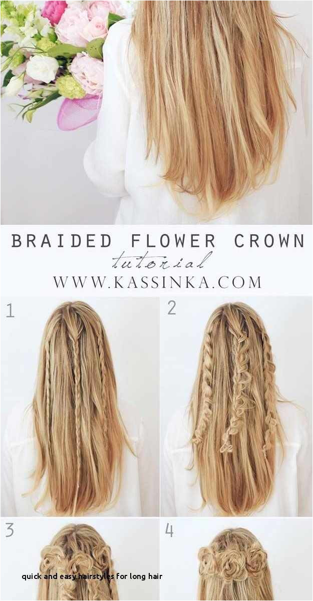 Quick Easy to Do Hairstyles for Long Hair 14 Elegant How to Do Easy Hairstyles for Long Hair