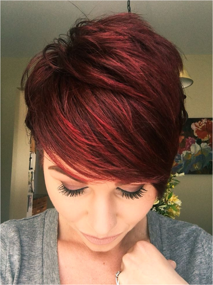 Red Hairstyles and Cuts Red Hairstyles for Short Hair Hair Makeup Pinterest