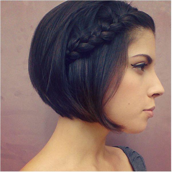 Short Hairstyles Ideas Tumblr 19 Cute Braids for Short Hair You Will Love