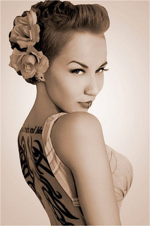 Simple 1940s Hairstyles for Short Hair Rockabilly Hairstyles for Short Hair Google Search