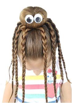 Simple Crazy Hairstyles Crazy Hair Day Teacher ✏ Pinterest