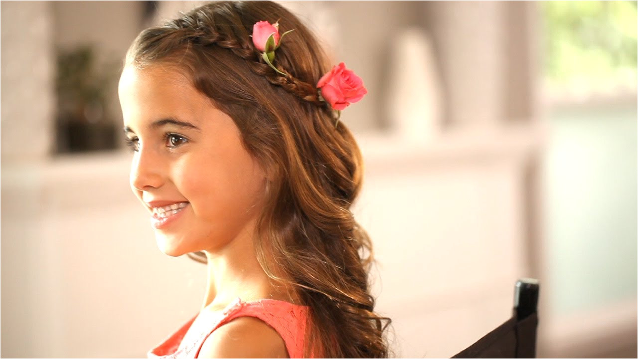 Wedding Hairstyles for 13 Year Olds Flower Girl Hairstyles