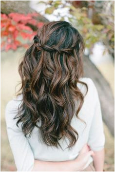 Wedding Hairstyles Long Down Curly 39 Half Up Half Down Hairstyles to Make You Look Perfecta