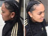 2 French Braid Hairstyles Two Braids Hairstyles