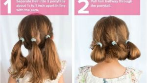 2 Pony Hairstyles for School Cute Ponytail Hairstyles for Little Girls Fresh Beautiful Hairstyles