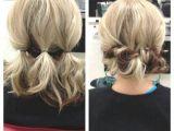 3 Easy Hairstyles for Short Medium Hair Updo for Shoulder Length Hair … Lori