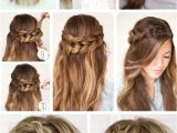 4 Simple and Easy Hairstyles Hairstyles for Girls with Medium Hair for Party New How to Do the