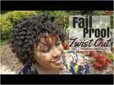 4c Twist Out Hairstyles Fail Proof Easy Twist Out 4c Hair