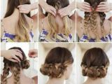 5 Easy Hairstyles for Curly Hair Beautiful Cute 5 Minute Hairstyles