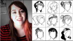 50 Hairstyles In 90 Seconds Drawing 50 Hairstyles In Under 90 Seconds Trying to Draw