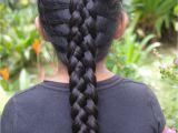 6 Braid Hairstyle Braids & Hairstyles for Super Long Hair Micronesian Girl