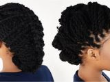 7 Cute Hairstyles with Just A Pencil 3 Ways to Style Your Kinky Twist Hairstyles Tutorial 6 Of 7