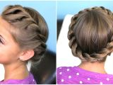 7 Cute Hairstyles with Just A Pencil How to Create A Crown Twist Braid