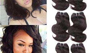 "8 Hairstyles for Short Curly Hair Hanne 6pcs Brazilian Virgin Hair Body Wave 8"" Short Curly Hair"