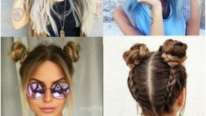 90s Hairstyles Half Up 28 Ridiculously Cool Double Bun Hairstyles You Need to Try