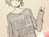 Anime Hairstyle Quiz Male Cute Anime Drawing tootokki I Have issues Sweater