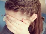 Athletic Braided Hairstyles athletic Hair Double Lace Braid