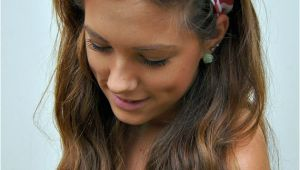 Bandana Hairstyles Hair Down Pin Up Headband Rockabilly Wired Fabric Dolly Bow Chevron Via Etsy