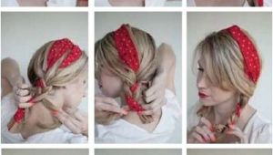 Bandana Hairstyles with Hair Up Summer Hair Keep Your Cool with these Updos