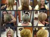 Before and after Bob Haircuts before & after Angled Bob Haircut