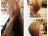 Before and after Bob Haircuts before and after From Long Mermaid Blond to New
