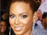 Beyonce Wedding Hairstyle Beyonce's Braided Bun Hairstyle Prom Wedding formal