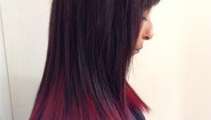 Black Hairstyles Dip Dye Red Dip Dyed Hair Hairr