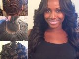 """Black Hairstyles Pin Curls Middle Part with My Signature Pin Curls Hairbyme"""""""