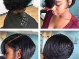 Black Hairstyles Razor Cut Bob Silk Press and Cut Short Cuts In 2019 Pinterest