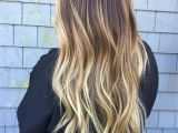 Blonde Hairstyles Dark Roots Baliage Blonde and Brunette Ombré Fallbre Dark Roots Blonde Ends by