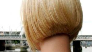 Bob Haircut Shorter In Back Short Layered Bob Hairstyles Front and Back View