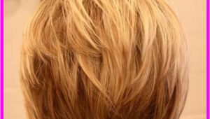 Bob Haircut with Layers In Back Back View Of Short Hairstyles Stacked Livesstar