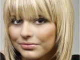Bob Haircuts with Bangs for Long Faces 10 Bob Hairstyles with Bangs for Round Faces