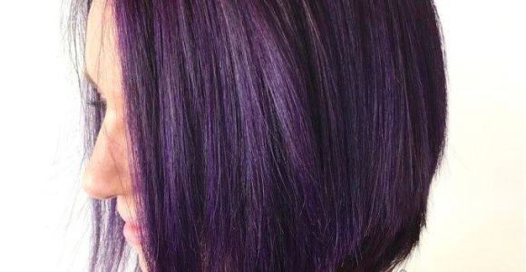 Bob Hairstyles Purple 50 Trendy Inverted Bob Haircuts Frisuren Pinterest
