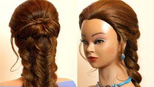 Braid Hairstyles for Long Hair Youtube Braided Hairstyle for Long Hair Bo Braids Makeup Videos