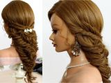 Braid Hairstyles for Long Hair Youtube Hairstyles for School Fishtail Braids for Long Hair