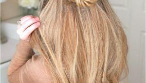 Braid Hairstyles Half Up Half Down Tutorial Image Result for Rose Bun Half Up Half Down
