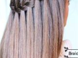 Braided Hairstyles Compilation Learn How to Do A Waterfall Braid Hair Style